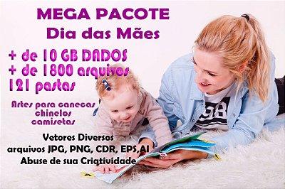 Pacote de Artes tema Dia das Mães