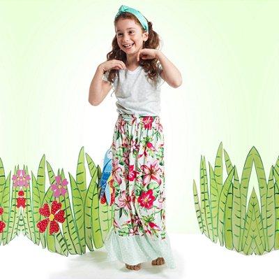 Blusa Florata Infantil Geométrico