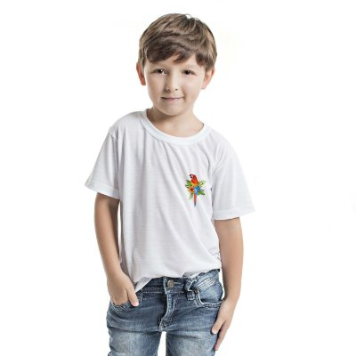 Camiseta Básica Infantil Arara