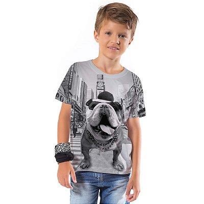 Camiseta Básica Infantil Times Square
