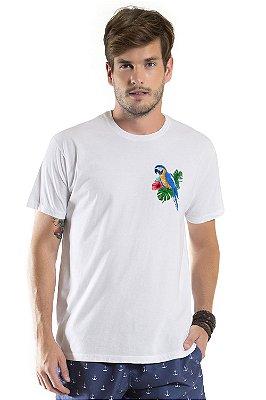 Camiseta de Algodão Estonada Arara Canindé