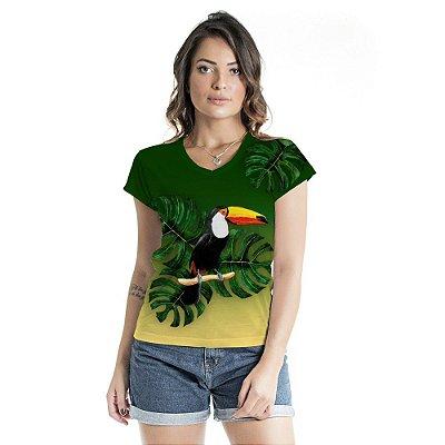 Blusa Florata Costela de Adão