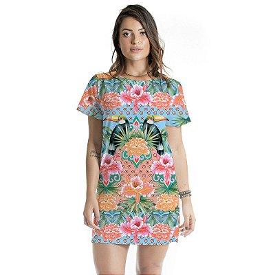 Vestido Curto Atena Tucano Floral