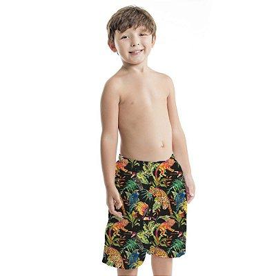 Bermuda Masculina Infantil Micos e Onças