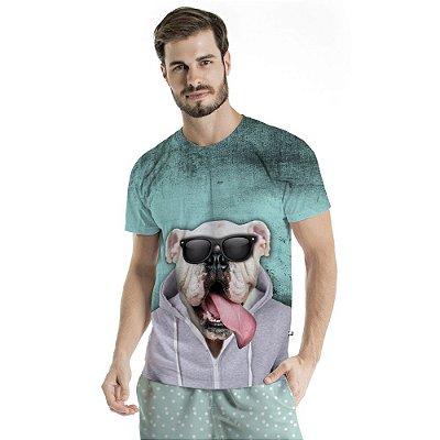 Camiseta Básica Adulto Dog de Casaco