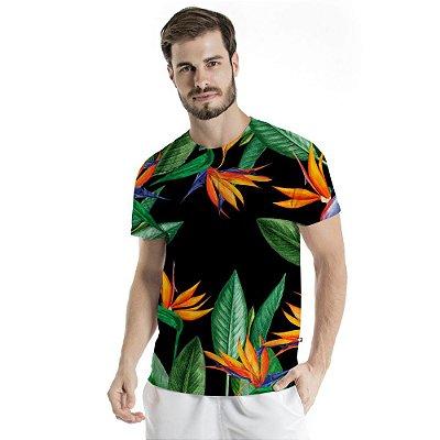 Camiseta Básica Adulto Estreliças