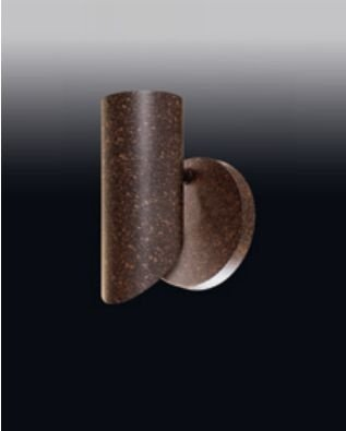 Arandela Old Artisan Vintage Tubular Redondo Esfera Linear Metal 20x12cm 1x PAR20 110 220v Bivolt AR-4996 Hall e Sala Estar