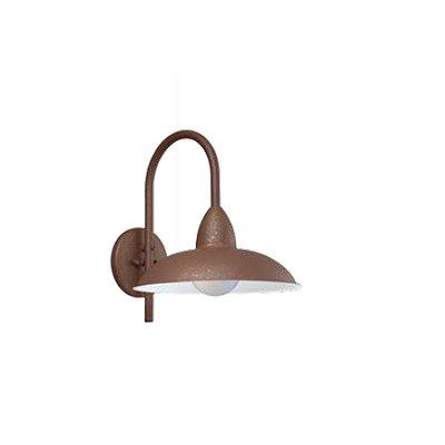 Arandela MadeLustre 2652 Turim Estilo Antigo Rustico Metal de Fundição 1 Lamp. Parede Muro Banheiro Sala