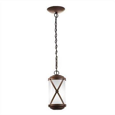 Pendente MadeLustre 2464 Império Madeira Natural Rustica Estilo Antigo Metal de Fundição 1 Lamp. Sala de Jantar Quarto e Cozinha
