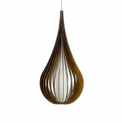Pendente Accord Iluminação Capadócia Stecche Invertido Madeira Natural 120x49cm 1x E27 110v 220v Bivolt 1287 Sala Estar Quartos