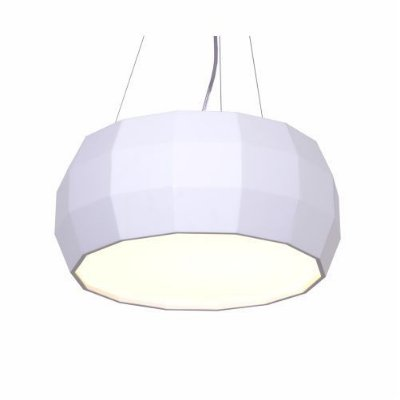 Pendente Accord Iluminação Cilindro Multi-Facetado Madeira Natural 21x45cm 2x E27 110v 220v Bivolt 112 Mesa Jantar Cozinhas