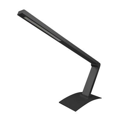 Abajur Bella Iluminação Mesa LED Regulavel Metal Preto Ø80cm 1x LED 3W 110v 220v Bivolt HB722B Mesa Jantar  Criados Mudos