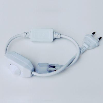 Alimentador Bella Iluminação com Dimmer para Fita LED Plastico Branco 14,4W 110v 220v Bivolt LP097