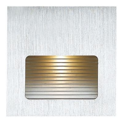 Balizador Bella Iluminação Embutir Risca Quadrado LED Metal 4,5x7,6cm 1 LED 3W 110v 220v Bivolt NS1015 Quartos Lavabos