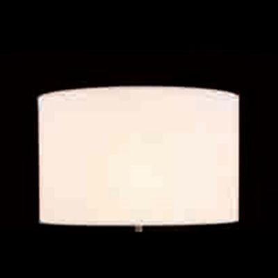 Cupula Bella Cilindrica Tecido Branco 30x49cm  EX2451BR Abajur