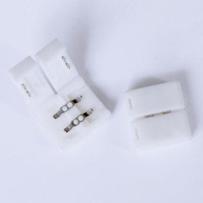 Emenda Bella Iluminação para Fita de LED Bella Iluminação Plastico Branco 12V 4,8/9,6W LP106