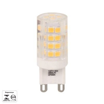 Lampada Bella Iluminação LED Halopin G9 3W 110V Translucido LP160CA