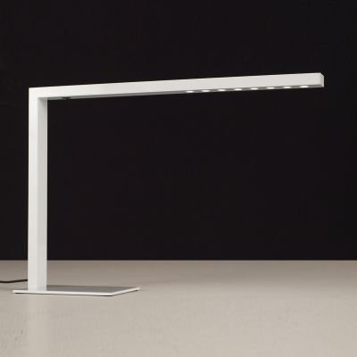 Luminária Bella Iluminação de Chão LED Contemporâneo Metal Branco 39x56cm 8x LED SE398B Mesa Jantar  Balcões