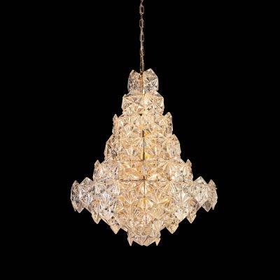 Lustre Bella Iluminação Zara Pêndulo Metal Cobre Vidro Translucido 76x60cm 12 E14 110v 220v Bivolt BM003B Saguão Hall