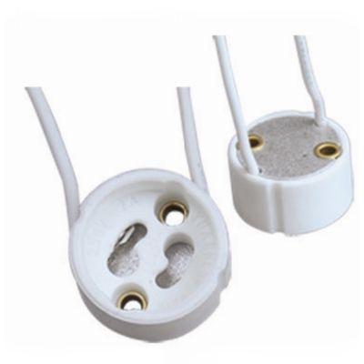 Soquete Bella Iluminação GU10 Embalagem 2 Unids Plástico Branco LP116