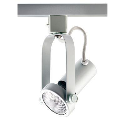 Spot Bella Iluminação Basic Trilho Regulavel Metal Branco 18x7cm 1x PAR 20 110v 220v Bivolt DL030B Sala Estar Cozinhas