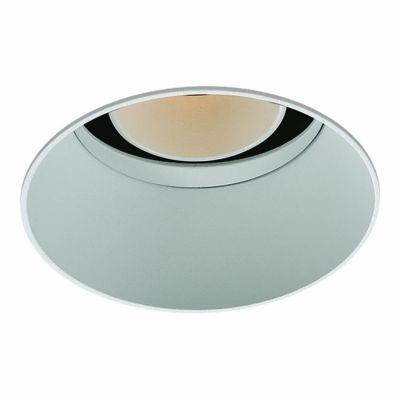 Spot Bella Iluminação Embutir Eva No Frame Redondo Metal 10x8,5cm 1 LED 6W 110v 220v Bivolt NS1057 Cozinhas Saguão