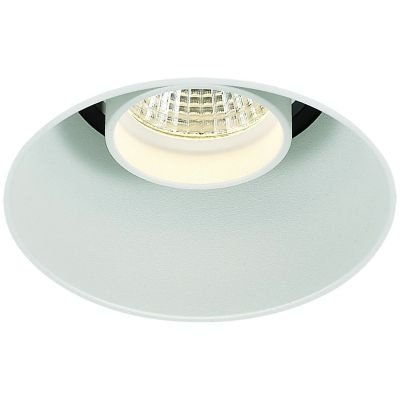 Spot Bella Iluminação Embutir Eva No Frame Redondo Metal 12x8,5cm 1 LED 9W 110v 220v Bivolt NS1036 Corredores Quartos