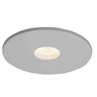 Spot Bella Iluminação Embutir Fit Red Metal Branco 3,3x6cm 1 GU10 Minidicróica 110v 220v Bivolt NS1004 Saguão Hall