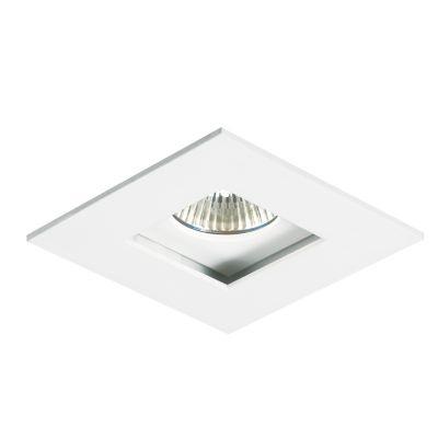 Spot Bella Iluminação Embutir Fly Quadrado Faixo Recuado Metal 4,7x16,5cm 1 AR111 110v 220v Bivolt NS211Q Sala Estar Saguão