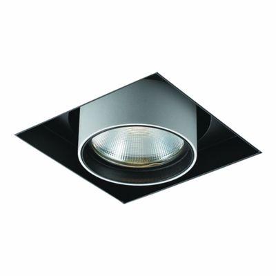 Spot Bella Iluminação Embutir Spy No Frame Metal Branco 13,3x12,5cm 1 LED 20W 110v 220v Bivolt NS1048 Quartos Sala Estar