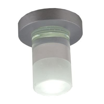 Spot Bella Iluminação Fine Red LED Embutir Cristal K9 Metal 6,6x4cm 1 LED 1W 110v 220v Bivolt YD262RF Cozinhas Sala Estar