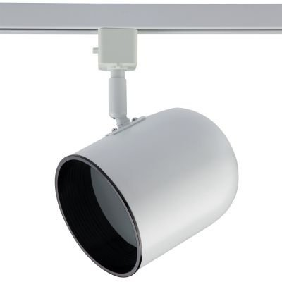 Spot Bella Iluminação Pharos Trilho Regulavel Metal Branco 18x11cm 1x PAR 30 110v 220v Bivolt DL040B Cozinhas Sala Estar