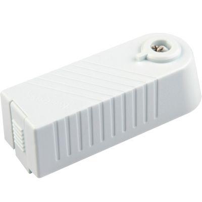 Transformador Bella Iluminação para Trilho Metal Branco Tensão 220V Potencia 80W DL021B-220V
