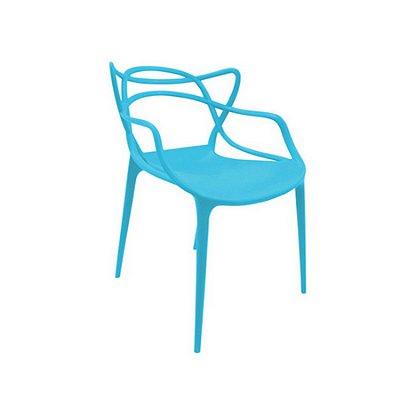 Cadeira Design Fratini Alegra Master Philippe Starck New Blue Polipropileno Cozinhas Aviv