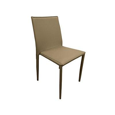 Cadeira Design Fratini Quadrada Fendi Assento Estofado Tecido Couro Moderna Cozinhas Salas Zurique