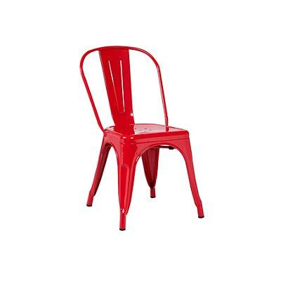 Cadeira Design Fratini Tolix Iron Francesinha Xavier Pauchard Vermelho Cozinhas Berlin
