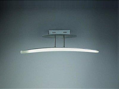 Pendente Mantra Co Hemisferic LED Moderno Metal Acrílico 21x70cm 1x LED 3000K 20W 110v 220v Bivolt 4083 Sala de Jantar Quarto e Cozinha