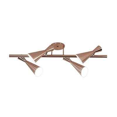 Arandela Munclair Zig Zag Moderna 3383-6 Varão Metal 148cm x 50 6x e-27 Bulbo Quartos Salas e Banheiros