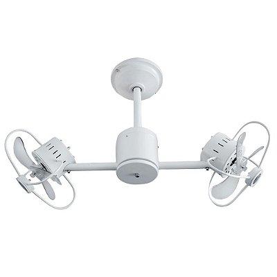 Ventilador Treviso Ind Lustre Infinit Branco com Luminaria Quarto Infantil Sala Cozinha Escritórios  TRV63