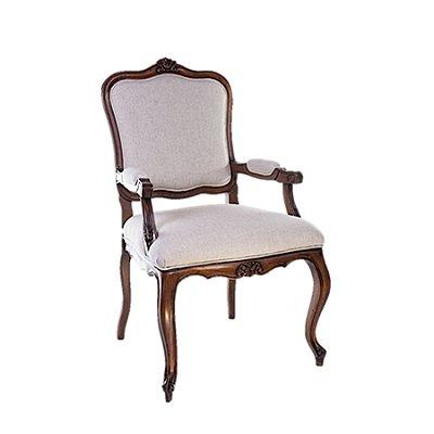 2x Poltrona Trendhouse Cadeira Luiz Vx Francês Madeira Natural Jequitibá Claro Assento Linho Estofado Encosto Palha LISBOA