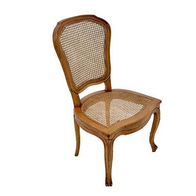 Cadeira Trendhouse Madeira Natural Jequitibá Mel Envelecido Assento Encosto Palha Sextavada Natual Clarie