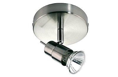 SPOT Quality Iluminação QSP920-AE Alumínio AÇO ESCOVADO 1XGU10  50W Ø12X9,5CM