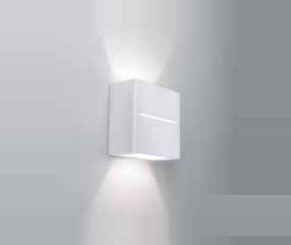Arandela Newline Iluminação New Trace Ambiente Externo Cubo Sobrepor Metal 10x5cm 1x G9 Halopin Bivolt 110v 220v 9574BT Parede Muro Banheiro Sala