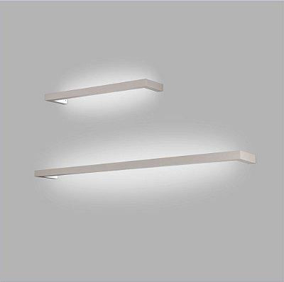 ARANDELA Trilho Usina Design LOFT PERFIL U 45mm 16350/70 1 T8 60Cm 700x45x120