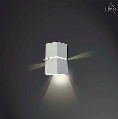 Arandela Usina Externa Luminária Fechada Alumínio Fosco 10x18 Kiara  G9 5226/18 Garagens e Jardins