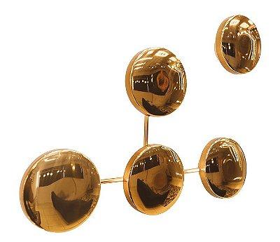 ARANDELA Usina Design GALÁXIA 5798/1 Sala Estar Banheiros Lavabos Quartos 1xPCI LED 5W 110V Ø110X15mm (Cliente Pode Montar Desenho Conforme seu Gosto)
