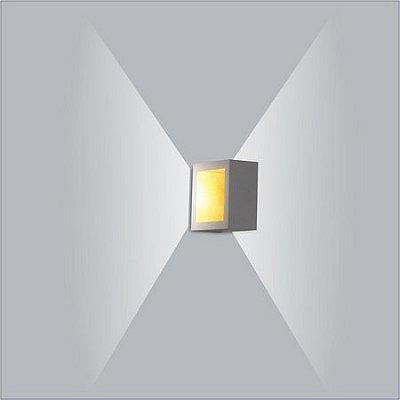 ARANDELA Usina Design PUCH QUADRADA LED 5744/30 Sala Estar Banheiros Lavabos Quartos 1xPCI LED 5W 110 220V 300X51X300