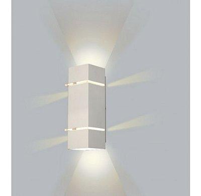 ARANDELA Usina Design Quadrado KIARA Amb. Externo 5225/40 Sala Estar Banheiros Lavabos Quartos 3 G9 105X400x110