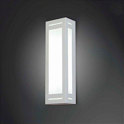 ARANDELA Usina Design RETANGULAR 5044/1 Sala Estar Banheiros Lavabos Quartos 1 E27 120x200x80