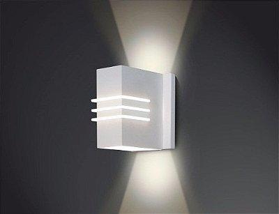 ARANDELA Usina Design RETANGULAR CLEO Interna 5230/23 Sala Estar Banheiros Lavabos Quartos 2 G9 80x120x230